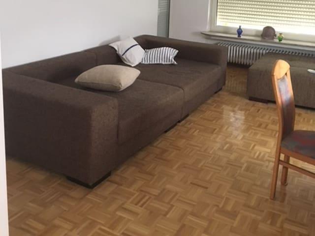 Ferienwohnung am Fulda-Kassel (Fuldabrück) -, Ferienwohnung, 75qm, 2 Schlafzimmer, max. 5 Personen
