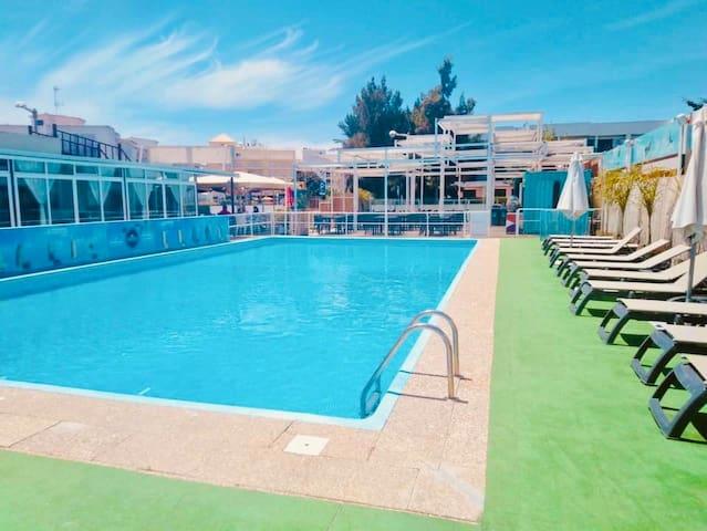 T1 com piscina perto da Marina Vilamoura