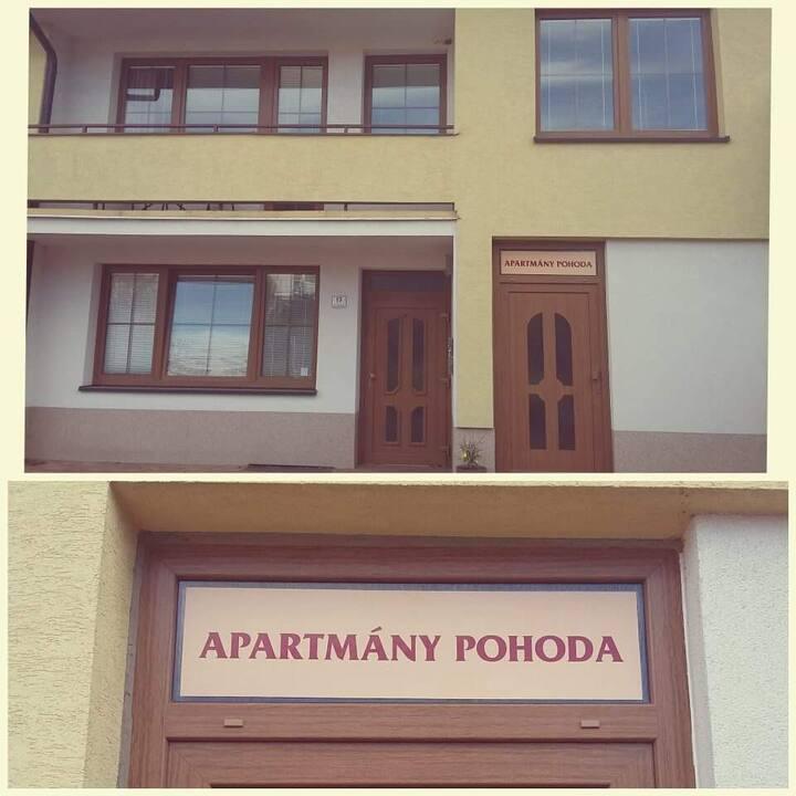 Apartmány Pohoda-Žlutý apartmán