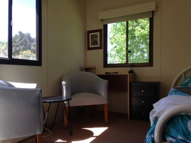 Very private room in my yard short walk to Deakin
