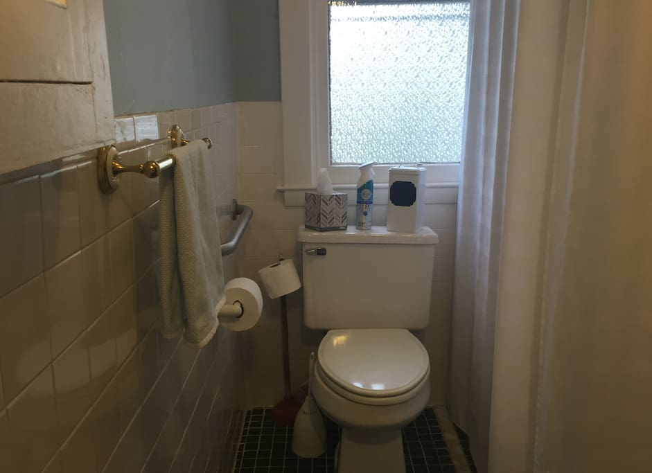 Your private bathroom w/ shower