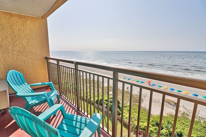 7th Floor Oceanfront Condo - Caravelle Resort