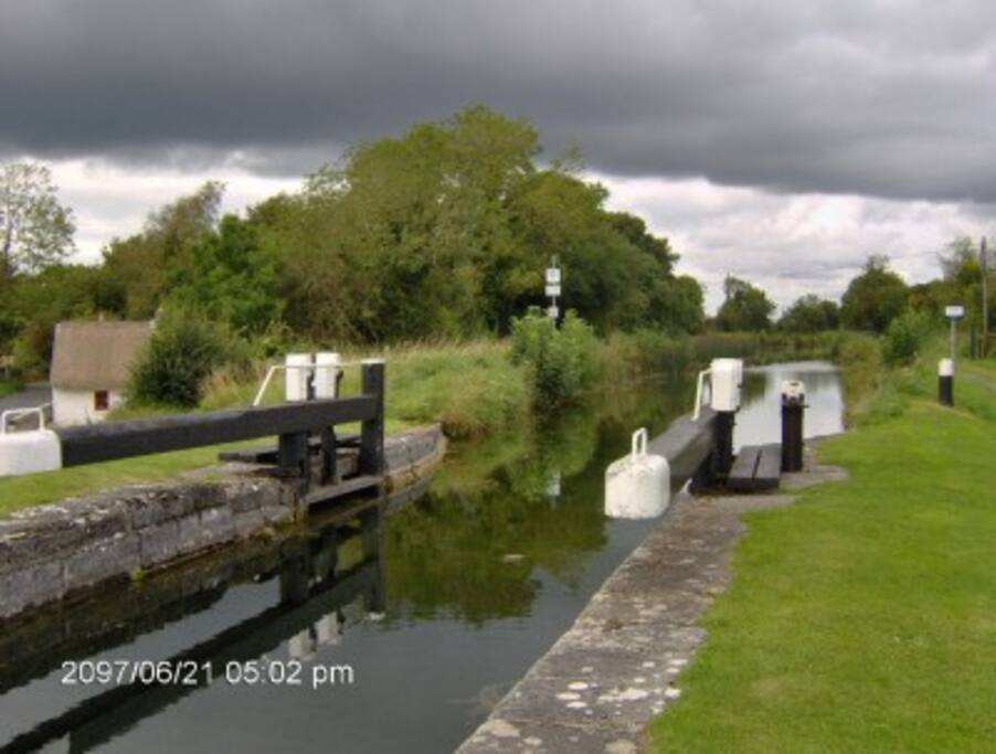 Canal coarse fishing and wonderful walking.