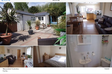 A cosy one bedroom bungalow - Cardiff - Bungalov