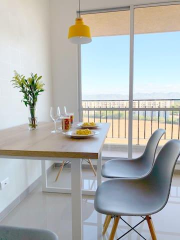 apartamento moderno y acogedor en Ricaurte