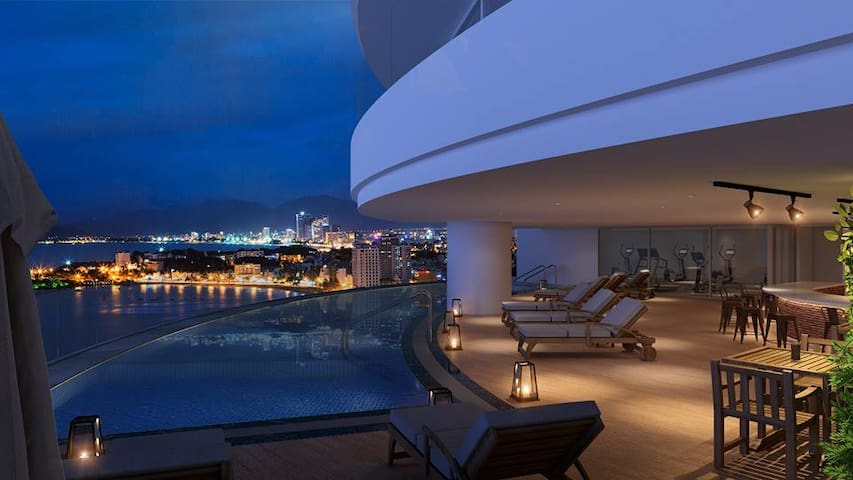 14th FL- Luxury Lakeview Apartment-Watermark Tayho - Phú Thượng - Appartement
