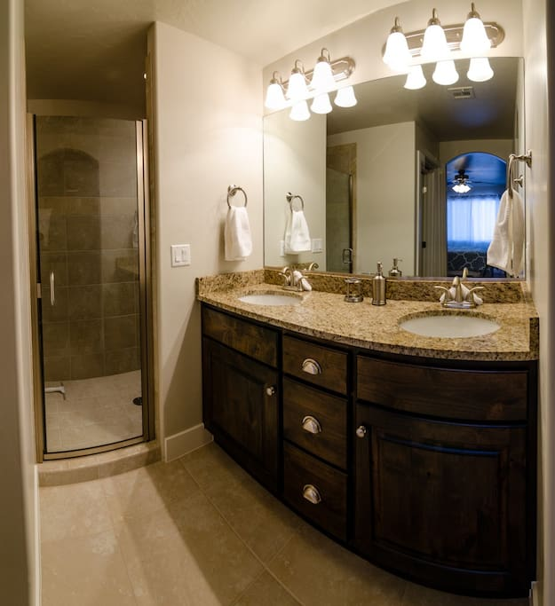 2nd Master Bath with shower