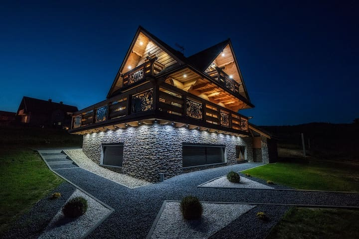 Domek  w górach deluxe Nowy Targ Zakopane,Białka