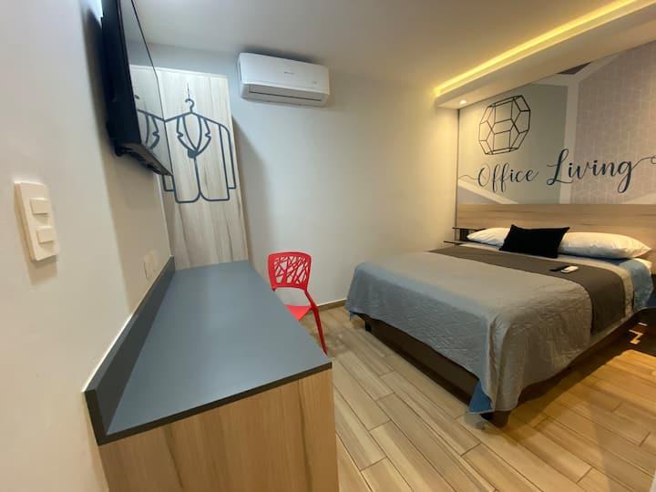 iSuites San Pedro valle premium hotel room factura