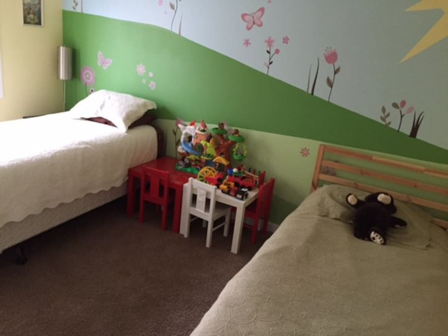 Twin room ideal for children