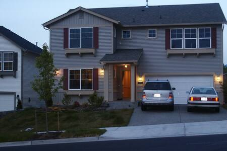 Nice Snoqualmie Ridge Home: Master - Snoqualmie - Huis