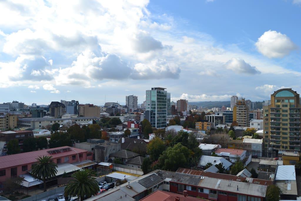 Vista desde la habitación/ view from the room
