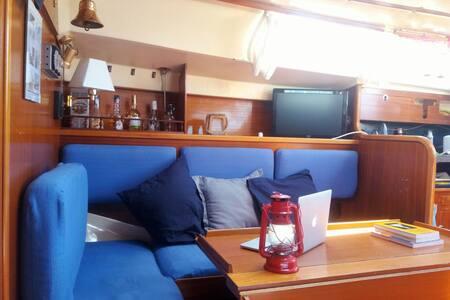 Piccolo B&B Sailboat with WiFi - Alicante - Barco