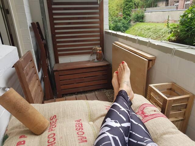 Charmante Altbau-Wohnung in bester Lage mit Balkon