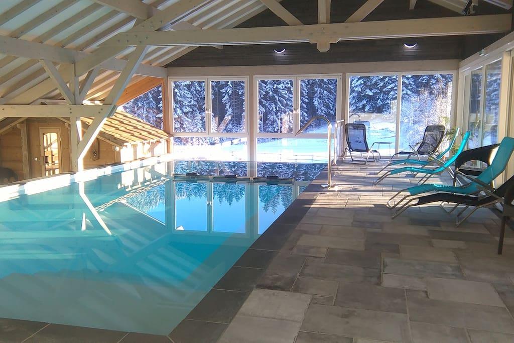 Studio la montagne 4 personnes avec piscine spa for Piscine spa alsace