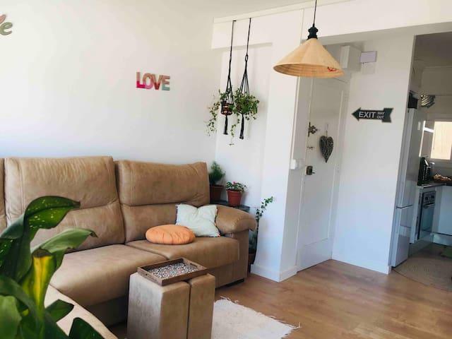 Apartamento con encanto recién reformado.