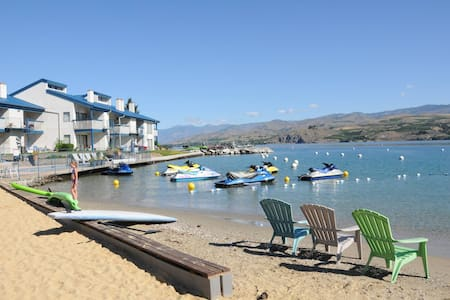 Pleasant Beach Condo - Chelan - Appartement