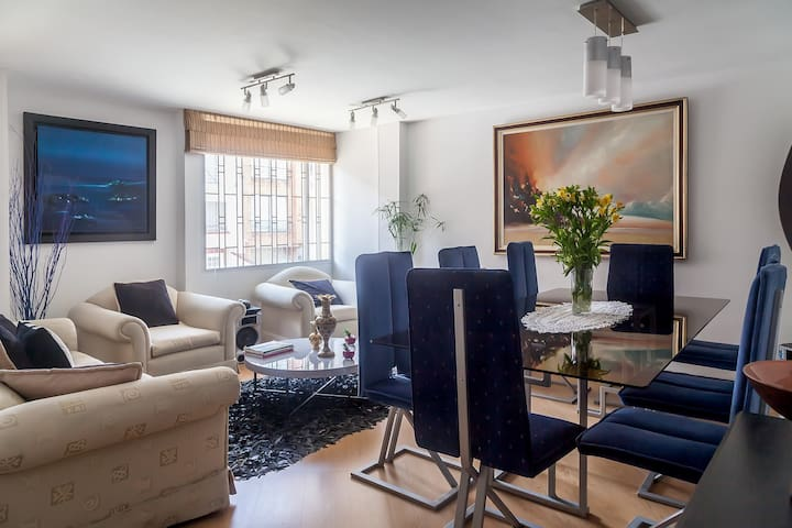 habitacion privada con cama doble - Bogotá - Appartement