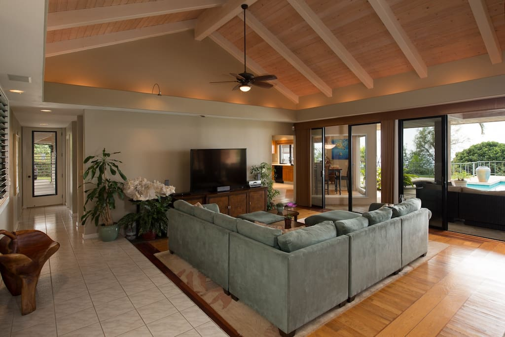 Great Room / Living Room entertainment area
