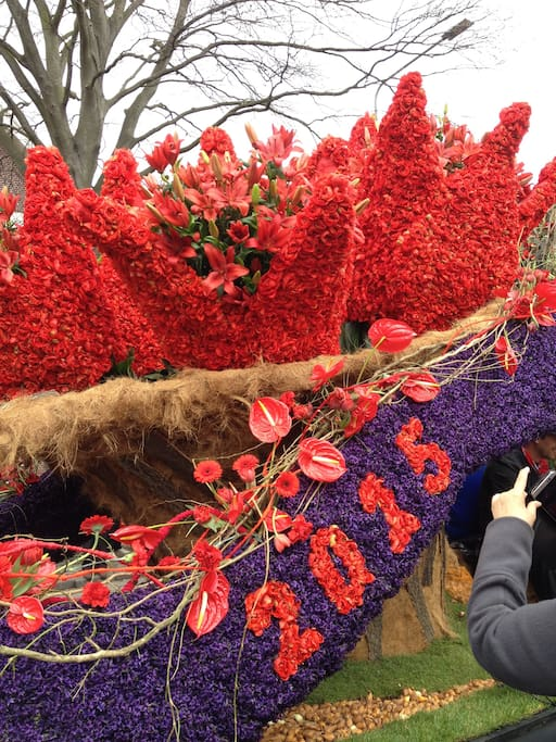 The Flower Parade of the Bollenstreek From April 18, 2018 up to and including April 22, 2018 is Corsoweek