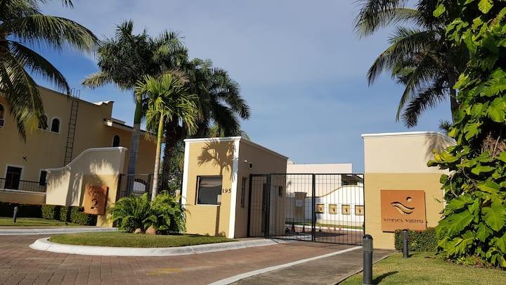 Nuevo Vallarta-BEAUTIFUL home-BeachAccess-SECURITY