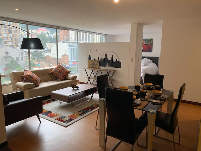 Apartment in the International Center of Bogotá