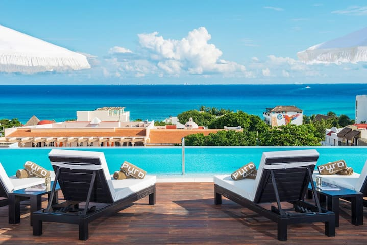 Luxury. In Playa Del Carmen 5 star boutique hotel