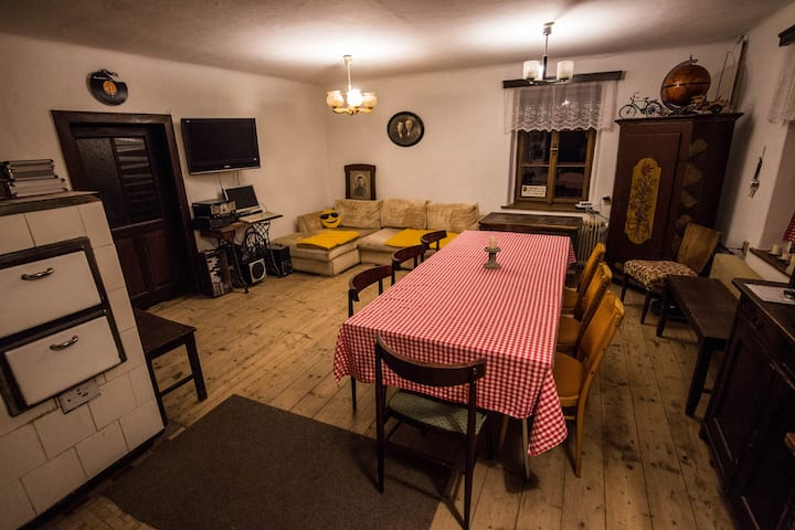 Traditional accommodation in Bohemian Paradise