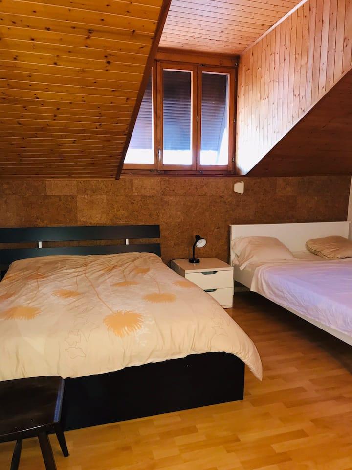 Charmante chambre disponible au cœur de Tannay.