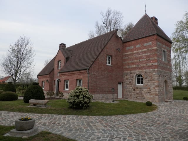 Manoir le Haut du Biez - Lebiez - Guesthouse