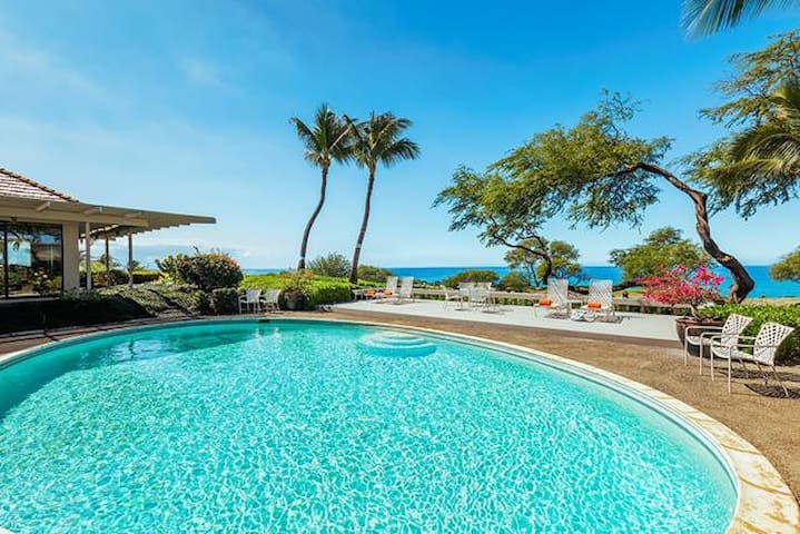 MK25- 2 Bdrm Home at Mauna Kea Resort with Private Pool, Panoramic Ocean Views!