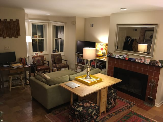 Large Capitol Hill 1BR Steps from U.S. Capitol