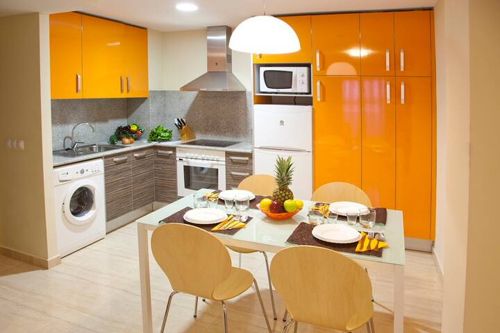Apartamento Familiar con 2 Habitaciones