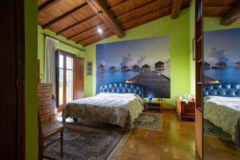 Villa Shasta, a private place in the nature
