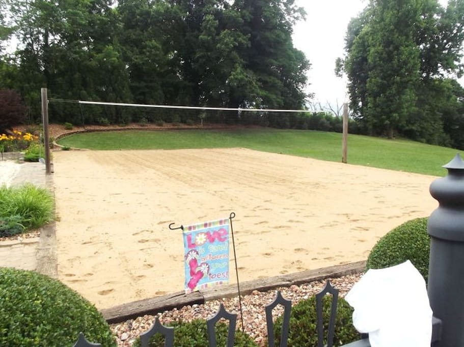 Volleyball/Badminton court