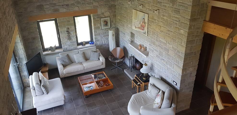 Patras eco stone house retreat with amazing view