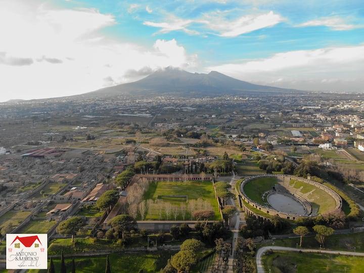 Nuova ed elegante casa vacanza in Pompei centro