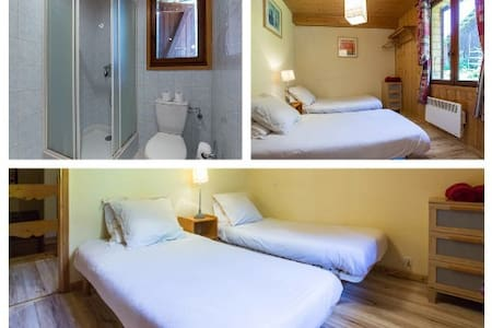 le Mazot private twin ensuite B&B - Apartment