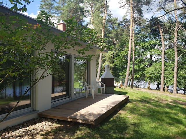 Agro Breza- domek nad samym jeziorem