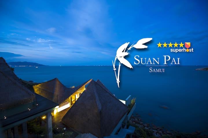 Koh Samui Dramatic Seaview Villa w/Beach Access