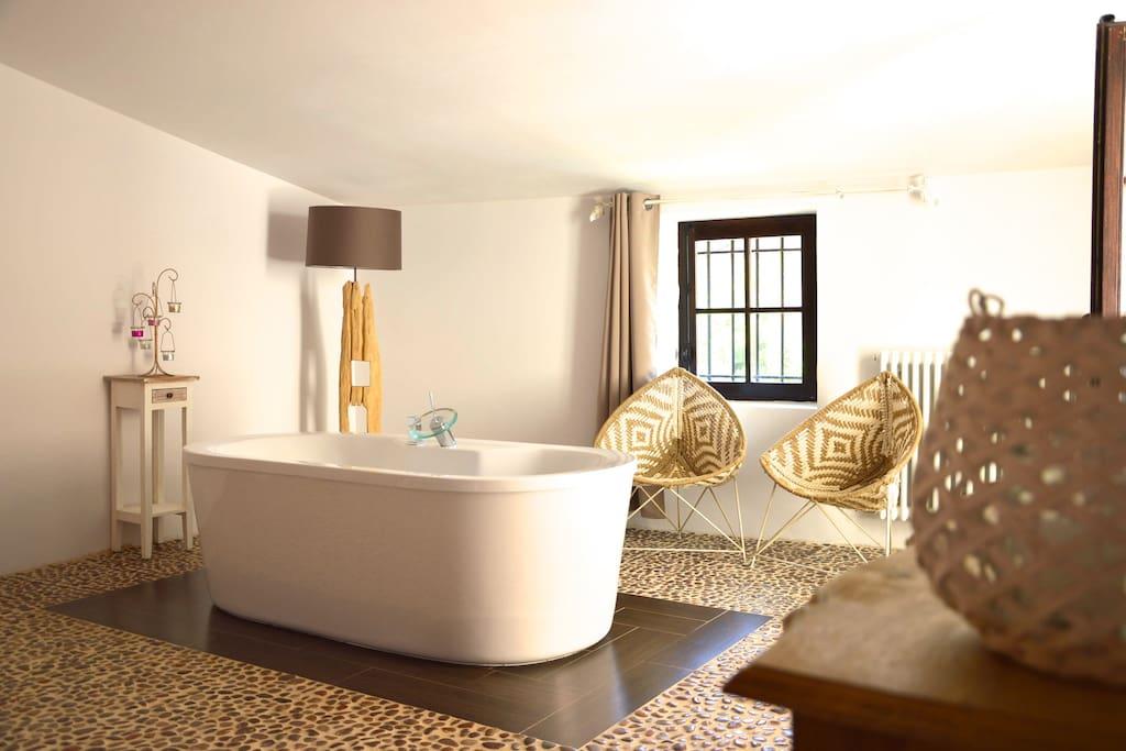une suite de luxe en provence chambres d 39 h tes louer pernes les fontaines provence alpes. Black Bedroom Furniture Sets. Home Design Ideas