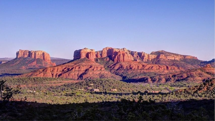 Relax in Sedona Surrounded by Red Rock Vistas