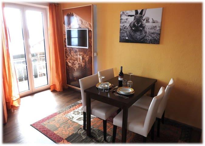 Lovely apartment for 3 people - Rückholz - Leilighet