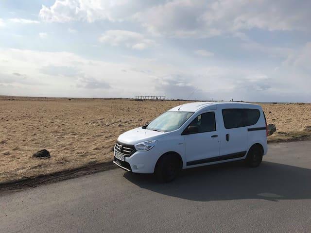 Campervan in Iceland