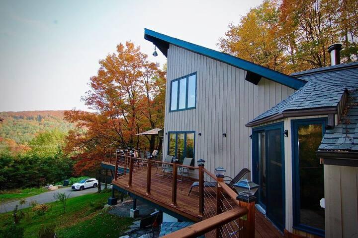 Special Cottage Close to Mont Habitant ski resort