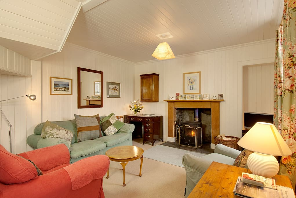 Gracie's Cottage sitting room