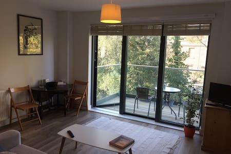 Twickenham - modern double bed flat near station.