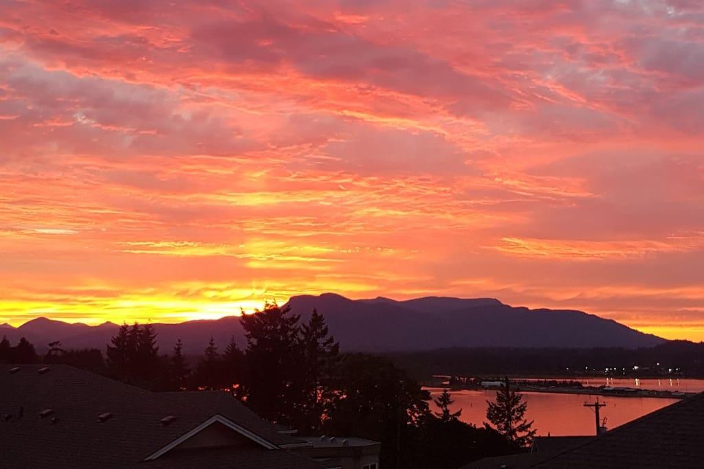 Sunsets all summer long!