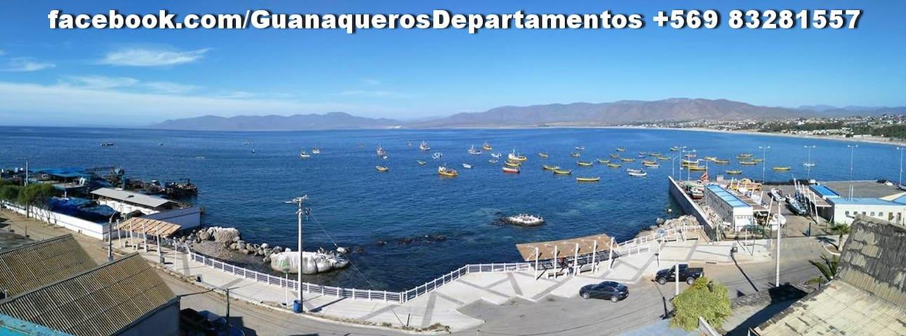 Vista la mar a 20 mt (Equipados) - Guanaqueros - Flat