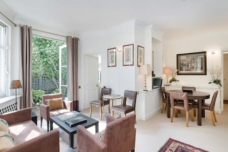 Elegant Garden Cottage with Private Entrance - Londres - Appartement